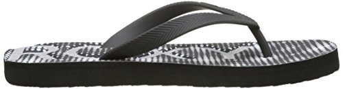 Black Multicolore Playa Roxy Femme Tongs wtIwBxTfqd