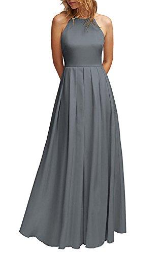 Damen the of Grau Kleid Beauty Leader w78WqHZq