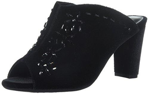 Black US Womens Velvet Aerosoles 8 Black Velvet Slam Grand Mule M Hfa8aOIq
