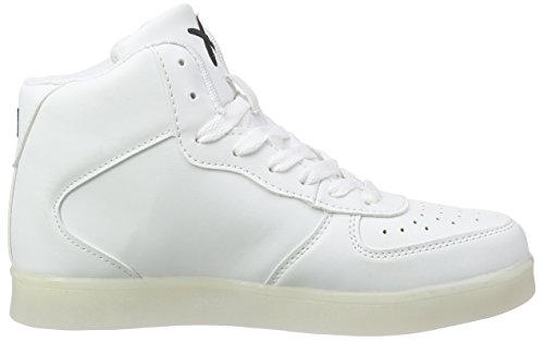 hi Bianco Wize Led Mixte Ope amp; Basses 01 01 Adulte Blanc Baskets white 8tUxtaqrw
