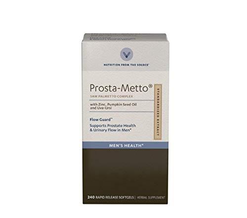 Vitamin World Prosta-Metto Saw Palmetto Complex, 240 Softgels, Extra - Palmetto Complex Strength Extra Saw