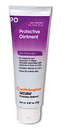 (Smith & Nephew Secura Protective Ointment 2.47oz Tube 59431500 1/EA by SMITH & NEPHEW INC.)