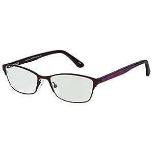 SightLine Hope Multifocal Women's Progressive Reading Glasses (1.00, Burgundy)