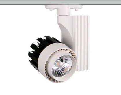 ONSSI Spot LED pour rail monophasé de 30 W G8001 Froide 6000k [Classe énergétique A+]