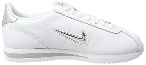 Weiß White Metallic Silver NIKE Jewel 101 Traillaufschuhe Herren Cortez Basic ZnxSXB