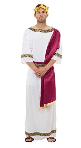 Bristol Novelty AC364 Greek God Costume, Chest Size