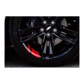 20 Strips Wheel Tire Rim Tape Decorative Decal Stickers Red Hot Sale