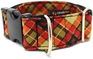 candyPet Collar Click para Perros - Modelo Escocesa: Amazon.es ...