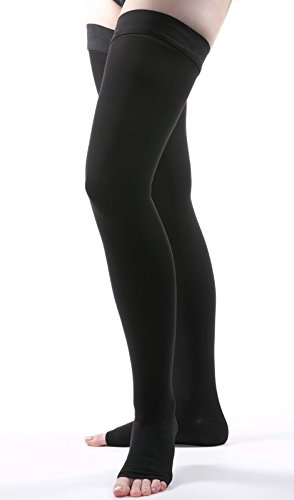 Allegro 30-40 mmHg Surgical 305/315 Open Toe Thigh High Medical Compression Hose