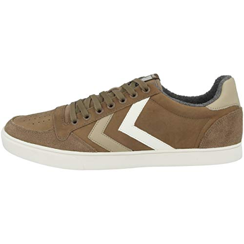 Hummel Duo Stadil Bas Gris Mince Taupe Sneaker Huil