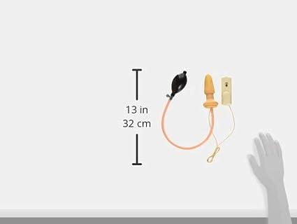 Amazon Com Trinity Vibes Inflatable Vibrating Anal Plug Health