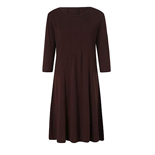 TOTOD Dress Clearance, Womens Casual 3/4 Sleeve Loose Dresses -Ladies Evening Long Maxi Dress Multi-Color ()