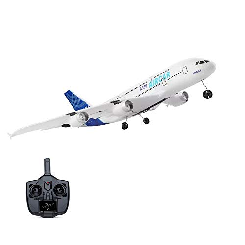 Landbow Remote Control Airplane - 2.4Ghz 3 Channels RC Plane Ready to Fly, 510mm Wingspan 6-Axis Gyro RC Airplane for Kids & Adults, Stability Flight RC Aircraft for Beginner