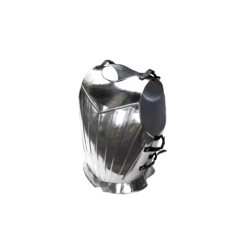 Armor Medieval (Armor Venue Fluted Gothic Breastplate - Medieval Armor One Size - Silver)