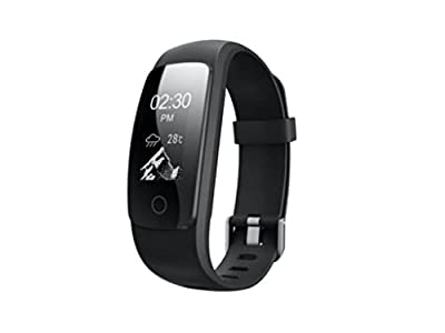 Sports Activity Fitness Tracker Watch (Black) with Heart Rate Monitor, Multi-sport Modes and GPS Tracking for Running, Hiking and Cycling
