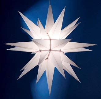 Moravian Advent and Christmas Star – 21-INCH Porch Light ()