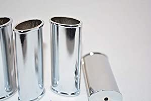 Blank Lighter Cover Silver 10 or Case for Bic Lighters Sleeve