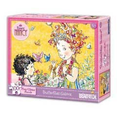 - Fancy Nancy: 100 Piece Glitter Puzzle - Butterflies Galore