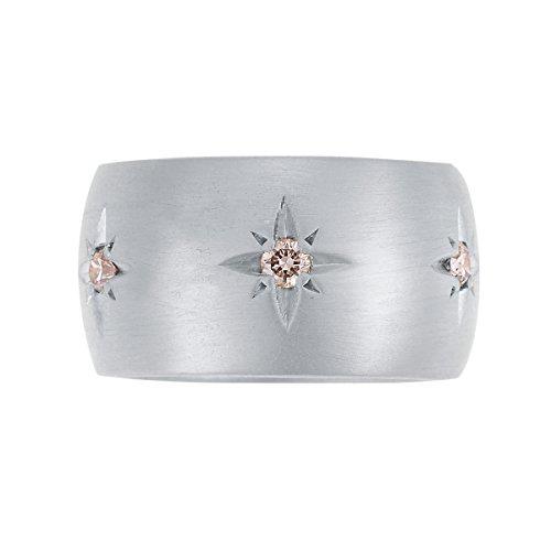 IAM by Ileana Makri Bague Argent 925/1000 Diamant Femme - Taille 57 (18.1)