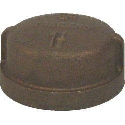 1 1/2'' Brass Cap