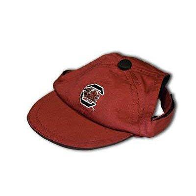 [Sporty K9 Collegiate South Carolina Gamecocks Dog Cap, Large] (Usc Fan Costume)