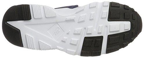 Nike Kids Air Huarache Run Gs Fashion Sneakers Wolf Grijs / Binair Blauw