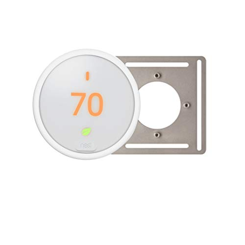 Thermostat Smart Wi-Fi Programmable T4000ES (white) remote control technology bundle package with FREE Backing Plate.