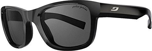 Julbo Reach L Sunglasses, Shiny Black, 10-15 Years