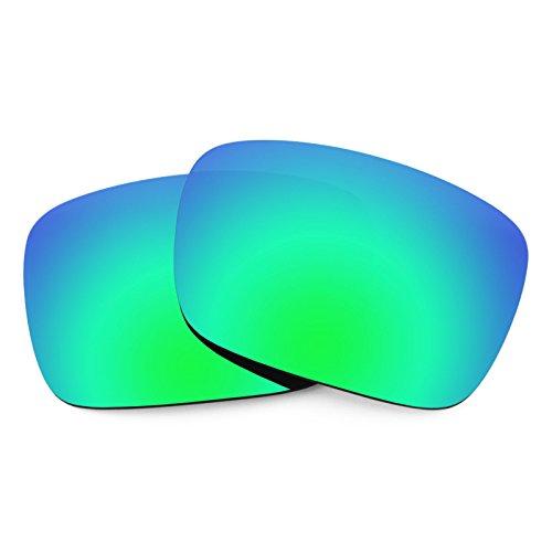Verres de rechange pour Von Zipper Elmore — Plusieurs options Polarisés Elite Rogue Vert MirrorShield®