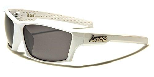 black White lens Lunettes Locs Homme de Multicolore Bigarré soleil T0UY8S