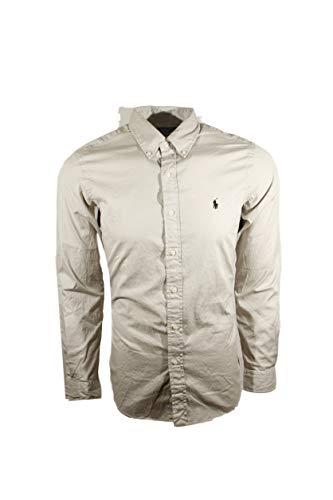 RALPH LAUREN Polo Mens Classic Fit Linen Button Down Long Sleeve ()