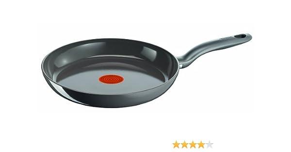 Tefal C93306 - Sartén de cerámica para inducción (28 cm), color negro: Amazon.es: Hogar