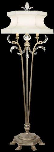 Fine Art Lamps Crystal Table Lamp (Fine Art Lamps 737420, Beveled Arcs 3 Way Crystal Chandelier Floor Lamp, 1 Light, 150 Watts, Silver)
