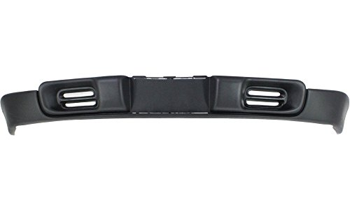 Evan-Fischer EVA18272010822 Lower Air Deflector for Chevrolet Blazer 98-05/S10 Pickup 98-03 Front Primed (S10 2WD) w/o Fog Light Holes Replaces Partslink# - S10 Blazer Air