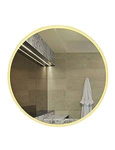 Amazoncom Smart Led Bathroom Mirror Bathroom Round Bathroom