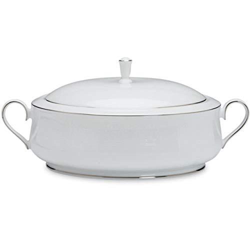 (Lenox Courtyard Platinum Covered Vegetable Bowl)