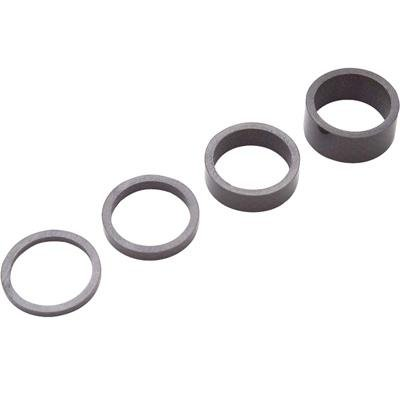 Carbon Integrated Headset - PRO Carbon Integrated Bicycle Headset Spacer Set (UD Carbon - 1 1/8in)