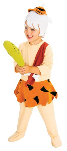 [Rubies The Flintstones Bamm Bamm Complete Costume, Small] (Barney Infant Costumes)