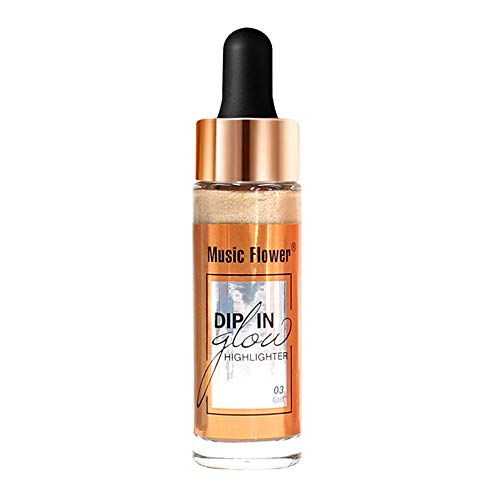 (aliveGOT 7 Colors Face Glow Liquid Highlighter Cream Highlighter Make Up Concealer Shimmer)