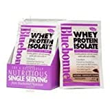 100% Natural Whey Protein Isolate Powder, Chocolate Flavor 2 lbs by Bluebonnet Nutrition (Pack of 3)