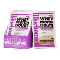 100% Natural Whey Protein Isolate Powder, Chocolate Flavor 2 lbs by Bluebonnet Nutrition (Pack of 3) by Bluebonnet Nutrition