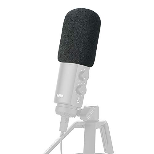 - Foam Microphone Windscreen - Mic Cover Pop Filter Customized for Rode NT-USB Condenser Microphone