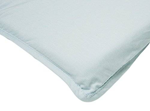 Arm's Reach Concepts 100% Cotton Mini Sheet, Baby Blue