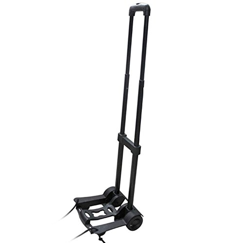 LOHOME (TM) Multi-use Portable Luggage Compact Folding Cart Shifter Multi-position Heavy Duty Luggage Travel Trolley Alloy Hand Truck