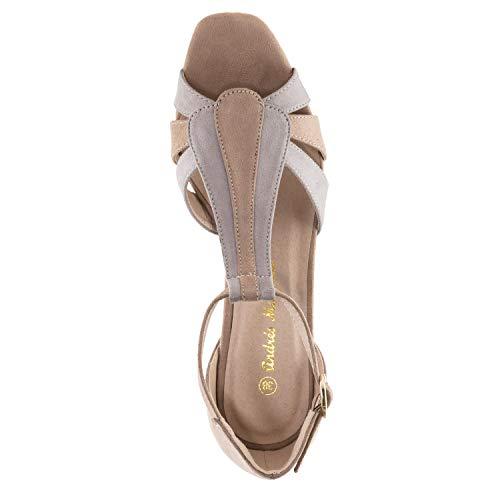 bar Pequeñas 35 32 Mujer Para Y Ante Gris sandalia tallas am5330 45 Grandes 42 Andres T Machado xHzIIq