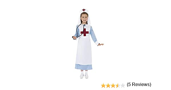 Smiffys-44026T Disfraz Enfermera Primera Guerra Mundial con ...