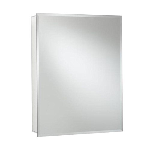 Croydex Haven 30-Inch x 24-Inch Recessed or Surface Mount Medicine Cabinet with Hang 'N' Lock Fitting System, Aluminum ()