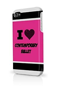 Contemporary Ballet Pink iPhone 5/5S Case - For iPhone 5/5S - Designer PC Case