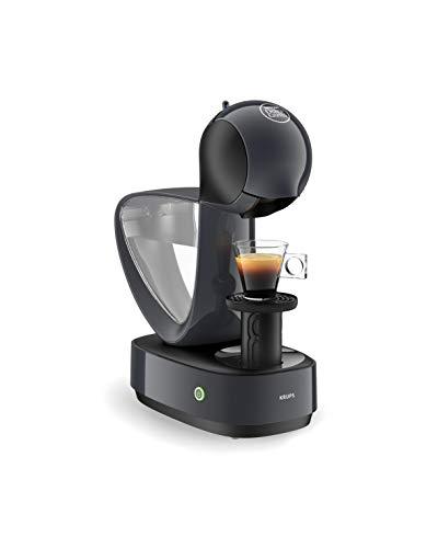 Nescafé Dolce Gusto INFINISSIMA PF KP173BKA - Máquina manual para café expreso y otras bebidas Sideral Blue Krups, gris