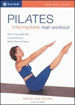 Pilates Intermediate Mat Workout DVD